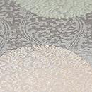浮線花菱丸文様紗袋帯 質感・風合