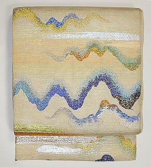 龍村平蔵製 「阿けくもにしき」袋帯