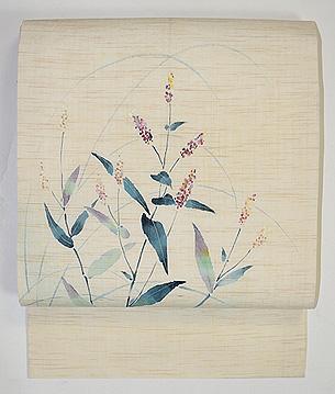 赤飯(あかまんま)の図麻の帯