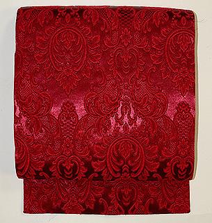 ダマスク織り名古屋帯