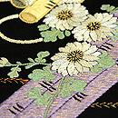 花筏の刺繍名古屋帯 質感・風合