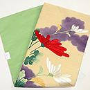 菊の刺繍の名古屋帯 帯裏