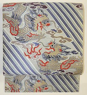 龍の図織名古屋帯