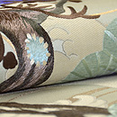 松の刺繍丸帯崩し名古屋帯 質感・風合