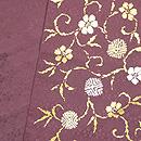 笹蔓紋袋帯 帯裏