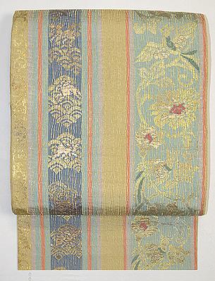 吉祥紋錦袋帯