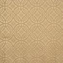 喜多川平朗作 花菱に四つ藤の丸紋唐織の名古屋帯 前中心