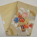 葵花束可憐刺繍名古屋帯 帯裏