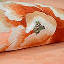 牡丹に菊の図刺繍名古屋帯 質感・風合