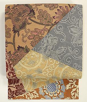 和更紗の名古屋帯