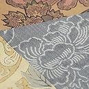 和更紗の名古屋帯 質感・風合