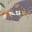 笹に印籠刺繍袋帯 前中心
