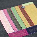 絹のパッチワーク創作帯 質感・風合