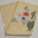 紫陽花刺繍紗名古屋帯 帯裏