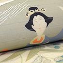 冊子の図単衣名古屋帯 質感・風合