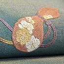 瓢と紐絽刺し名古屋帯 質感・風合