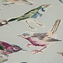 小鳥の染名古屋帯 質感・風合
