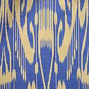 ウズベキスタン・アドラス羽織 質感・風合