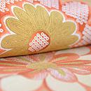 菊に雲取模様小紋 質感・風合