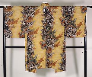 秋の山紅葉の羽織