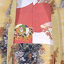 秋の山紅葉の羽織 羽裏