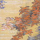 秋の山紅葉の羽織 質感・風合