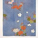 疋田柄に桜、牡丹、桐の訪問着 上前