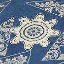 藍型染綿単衣 質感・風合
