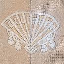 干網の図単衣付下 背紋