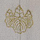 竹林白鷺の単衣付下 背紋