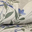 御簾に秋草絽の付下 質感・風合