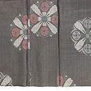 大きな丸紋の宮古上布 上前