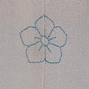 葦にトンボの単衣付下 背紋