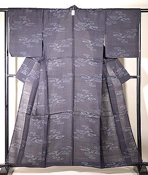 観世水の宮古上布