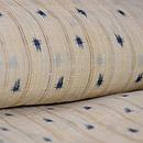 芭蕉布縞に十字絣 質感・風合