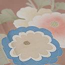 白茶色菊尽くしの訪問着 質感・風合