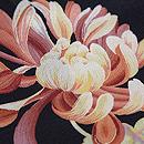 大輪菊袷小紋 質感・風合