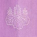 菊に紅葉の図羽織 背紋