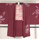 四季の花々刺繍羽織 正面
