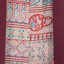 四季の花々刺繍羽織 羽裏