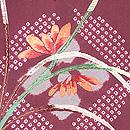 四季の花々刺繍羽織 質感・風合