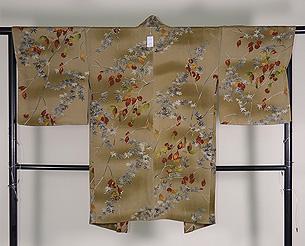 柿の木に楓羽織
