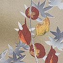 柿の木に楓羽織 質感・風合