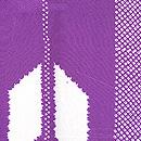 深紫矢羽根模様羽織 質感・風合