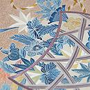 熊谷好博子作 蒔き糊に四季の花籠散らし色留袖 質感・風合