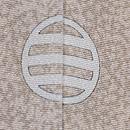 熊谷好博子作 蒔き糊に四季の花籠散らし色留袖 背紋