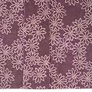 菊絞り小紋紫根染袷 上前