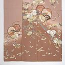 貝島はるみ作 桜に鼓訪問着  上前