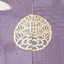 四季の庭文様訪問着  背紋