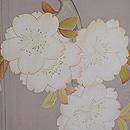 八重桜の羽織 質感・風合